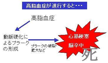 高脂血症と動脈硬化の原因